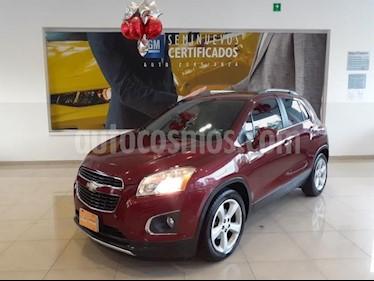 Chevrolet Trax 5P LTZ L4/1.8 AUT usado (2015) color Rojo precio $228,900