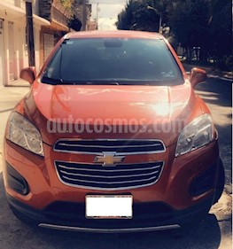 Foto Chevrolet Trax LT Aut usado (2016) color Naranja precio $185,000
