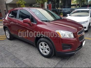 Chevrolet Trax 5P LT 1.8L TA TELA/PIEL RA-16 usado (2015) color Rojo precio $169,000