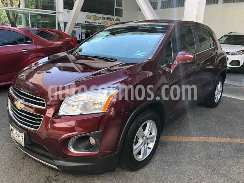 Chevrolet Trax LT Aut usado (2016) color Rojo precio $205,000