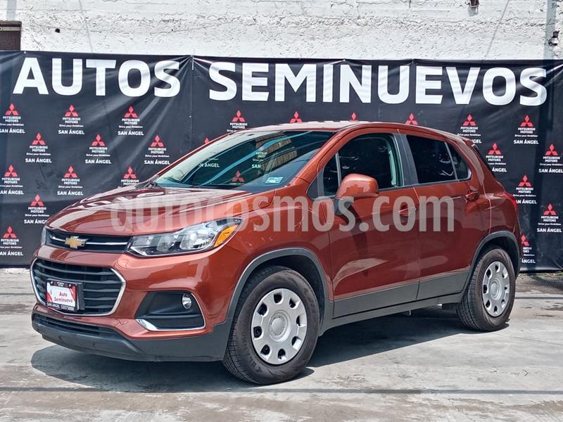 Chevrolet Trax LS usado (2019) color Naranja Metalico precio $253,000