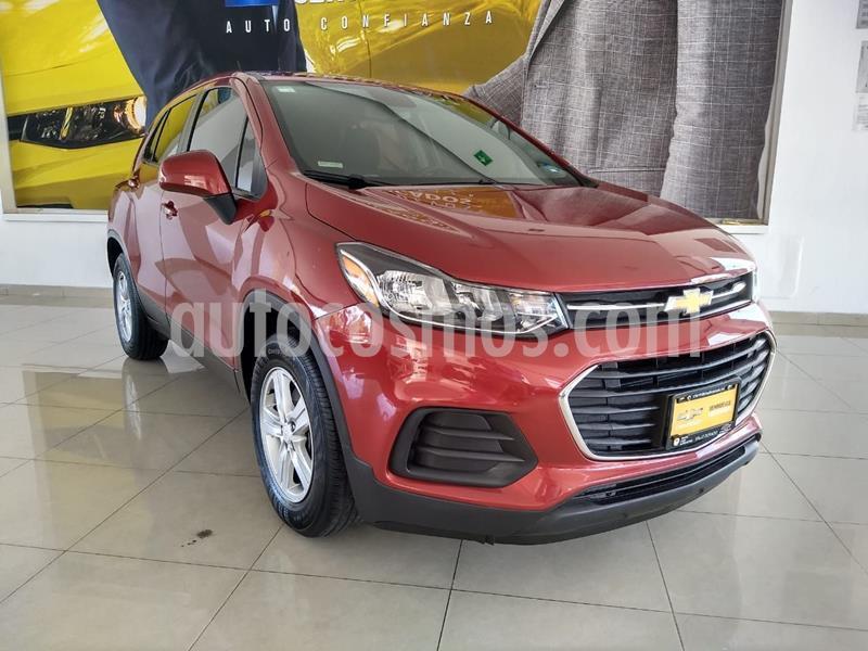 Chevrolet Trax LS usado (2020) color Rojo precio $289,000