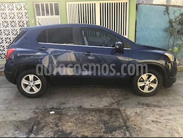 Chevrolet Trax LT usado (2016) color Azul Metalico precio $38,000