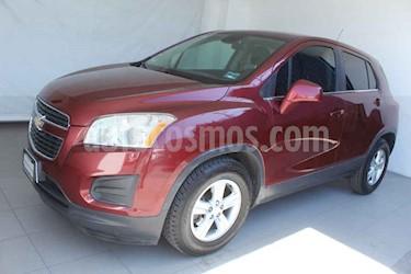 Chevrolet Trax 5p LT L4/1.8 Aut usado (2014) color Vino Tinto precio $179,000