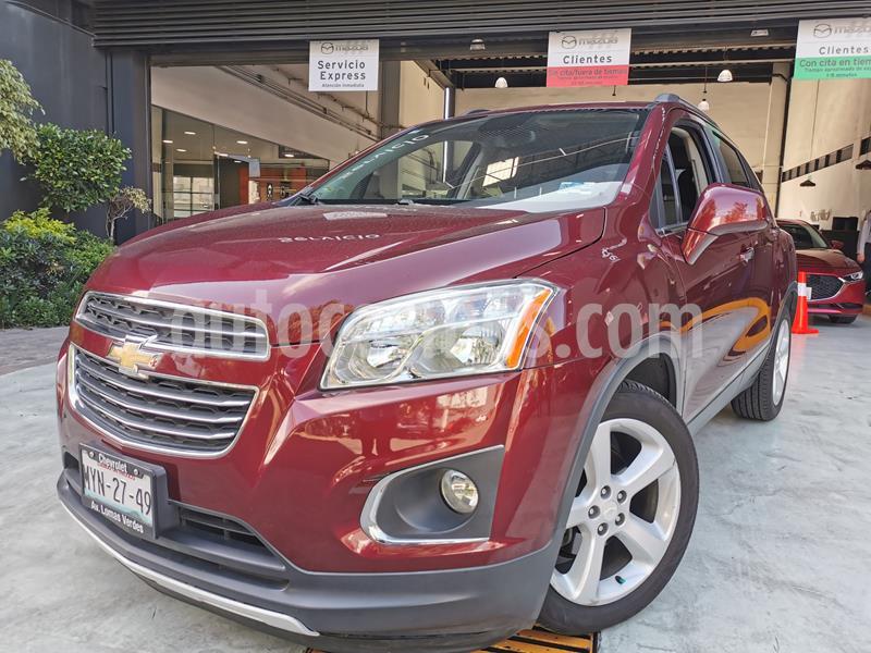 Chevrolet Trax LTZ usado (2016) color Rojo Tinto precio $228,000