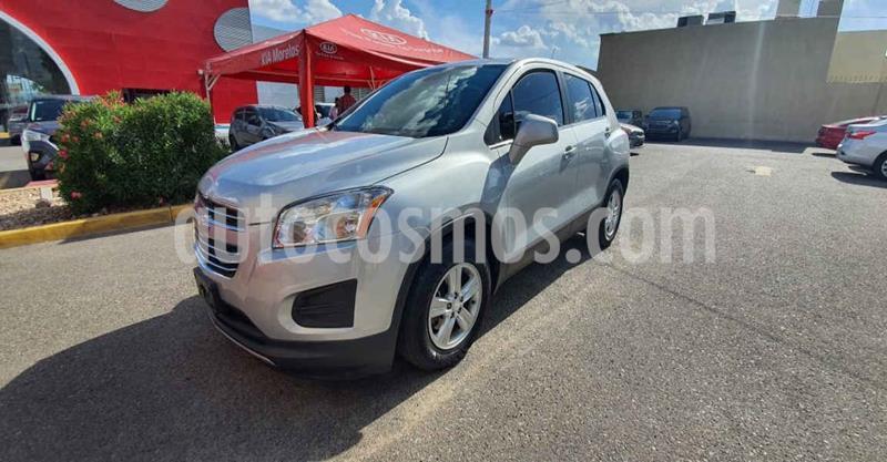 Chevrolet Trax LT Aut usado (2016) color Plata precio $210,000