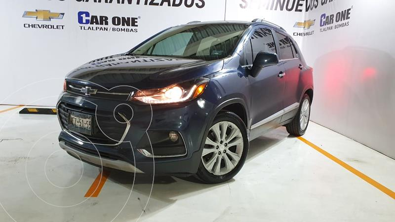 Chevrolet Trax Premier Aut usado (2018) color Azul Oscuro precio $274,999