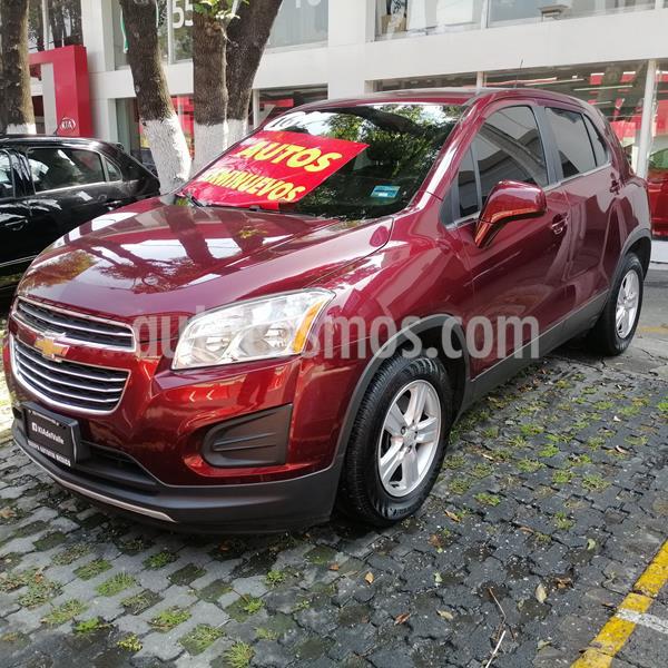 Chevrolet Trax LT Aut usado (2016) color Rojo Tinto precio $204,900
