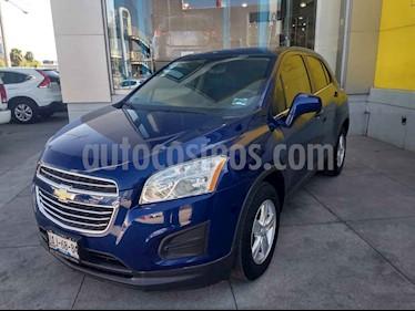 Chevrolet Trax 5 pts. LT B usado (2016) color Azul precio $217,000