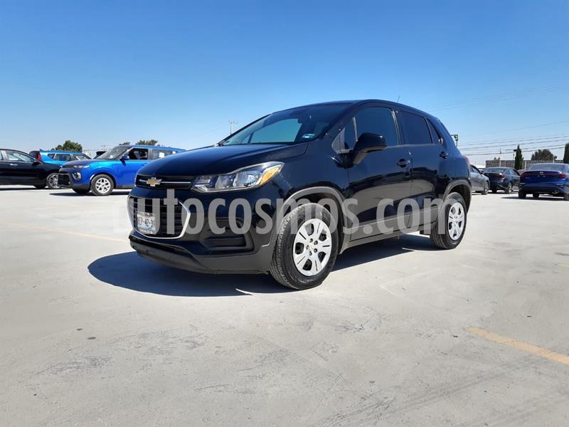 Chevrolet Trax LS usado (2017) color Negro precio $202,000