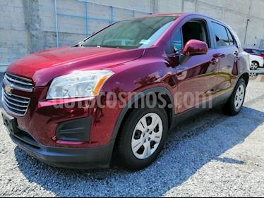 Chevrolet Trax LS usado (2016) color Rojo Tinto precio $160,000