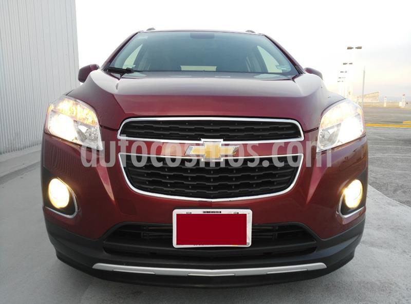 Chevrolet Trax LTZ usado (2014) color Rojo Tinto precio $150,000
