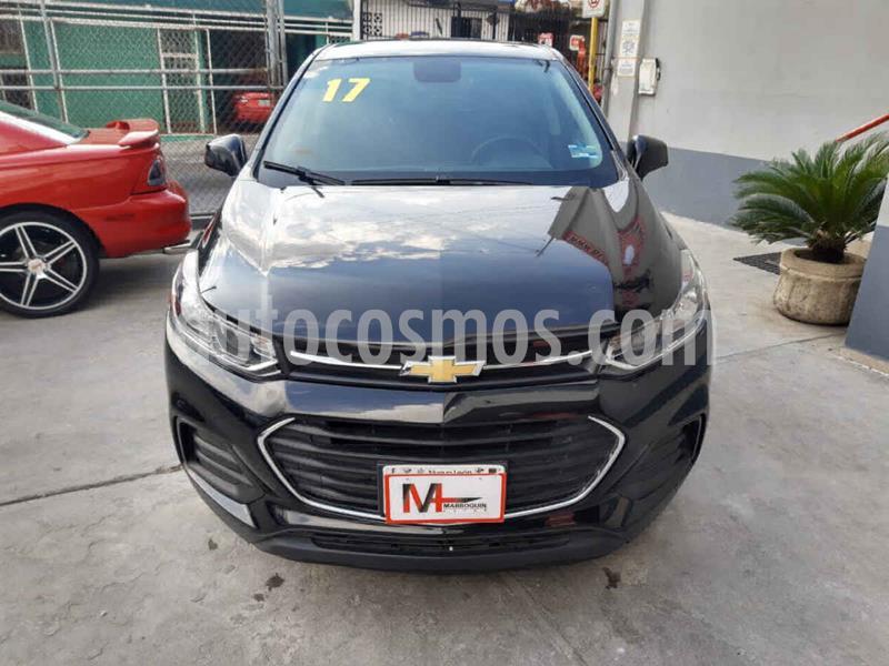 Chevrolet Trax LS usado (2017) color Negro precio $199,000