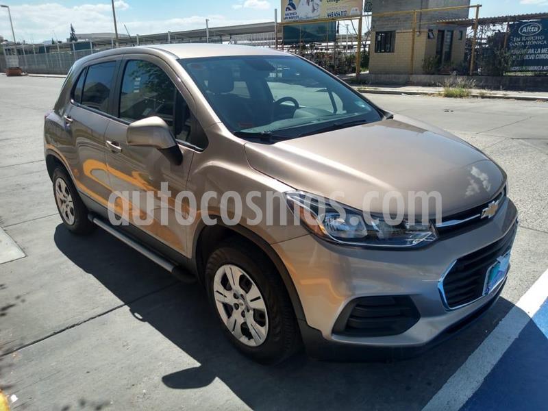 Chevrolet Trax LS usado (2018) color Bronce precio $225,000