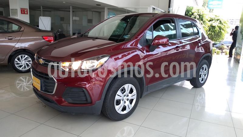 Chevrolet Trax LS usado (2017) color Rojo precio $230,000