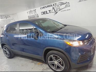 Chevrolet Trax LS usado (2019) color Azul Oscuro precio $270,000