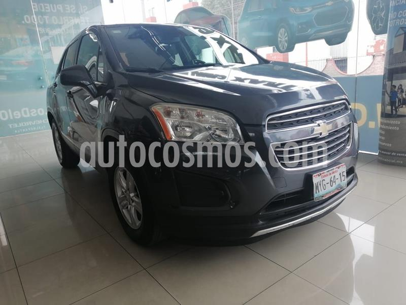 Chevrolet Trax LT Aut usado (2016) color Gris precio $195,000
