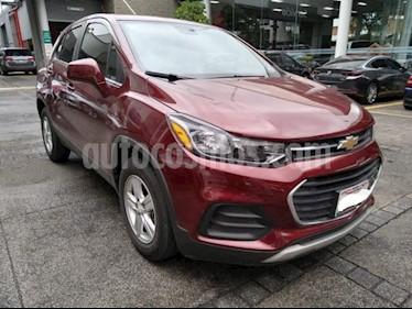Chevrolet Trax 5P LT 1.8L TA TELA/PIEL RA-16 usado (2017) color Rojo precio $245,000