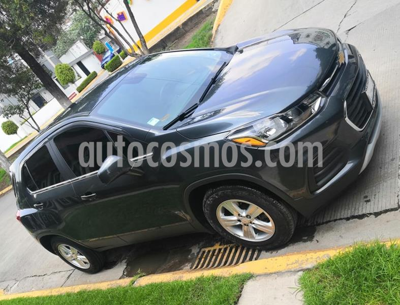 Chevrolet Trax LT Aut usado (2017) color Gris precio $215,000