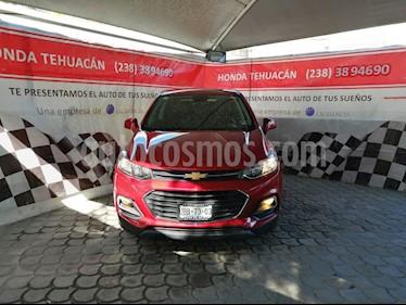 Chevrolet Trax LS usado (2018) color Rojo Victoria precio $240,000