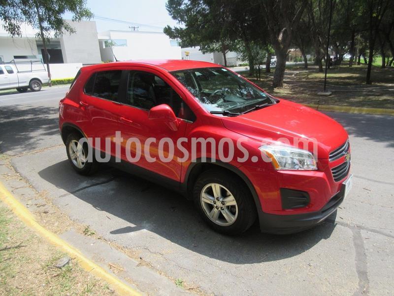 Chevrolet Trax LT Aut usado (2016) color Rojo precio $189,900