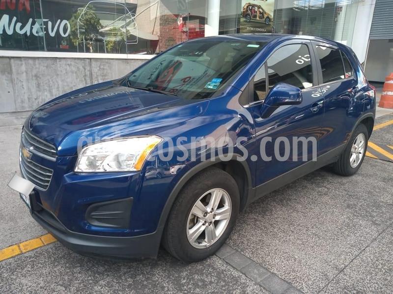 Chevrolet Trax LT Aut usado (2016) color Azul precio $209,000