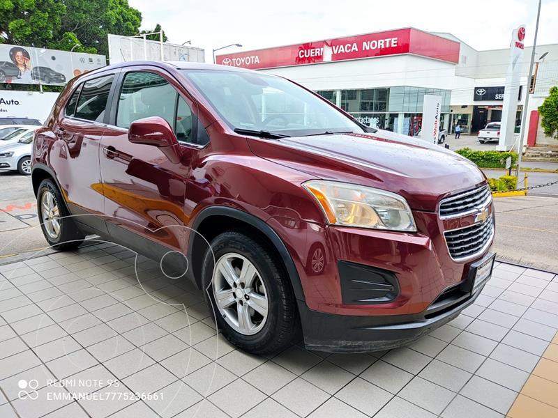 Foto Chevrolet Trax LT usado (2015) color Rojo Tinto precio $189,900