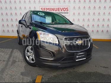 Chevrolet Trax LS usado (2015) color Negro Carbon precio $168,000