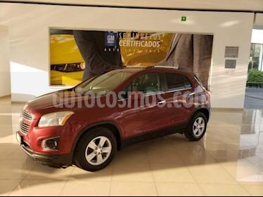 Chevrolet Trax 5P LTZ 1.8L TA PIEL QC F. NIEBLA RA-18 usado (2015) color Rojo precio $186,986