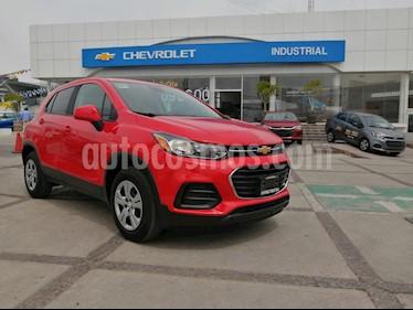Chevrolet Trax LS usado (2018) color Rojo Victoria precio $229,000