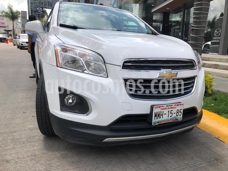 Chevrolet Trax LTZ usado (2016) color Blanco Galaxia precio $210,000
