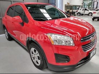 Chevrolet Trax 5P LS 1.8L AT TELA R-16 usado (2016) color Rojo precio $183,000