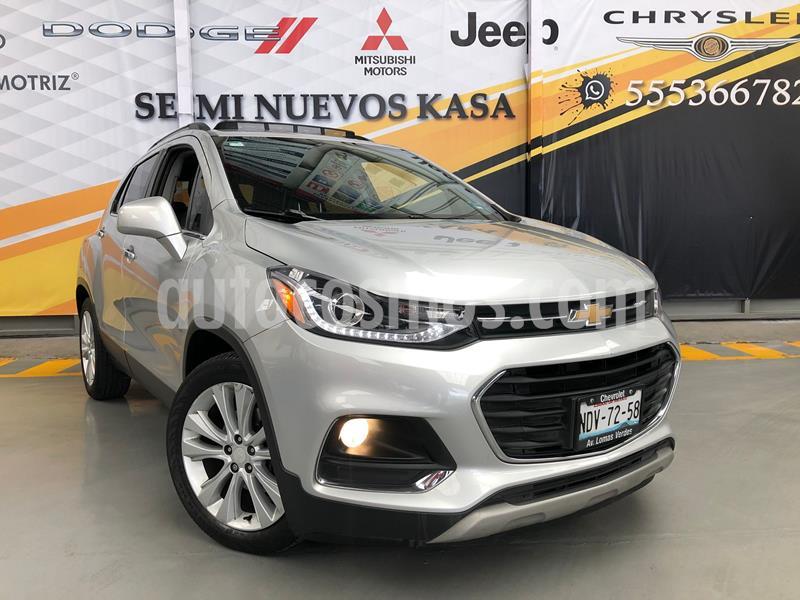 Chevrolet Trax Premier Aut usado (2017) color Plata Dorado precio $265,000