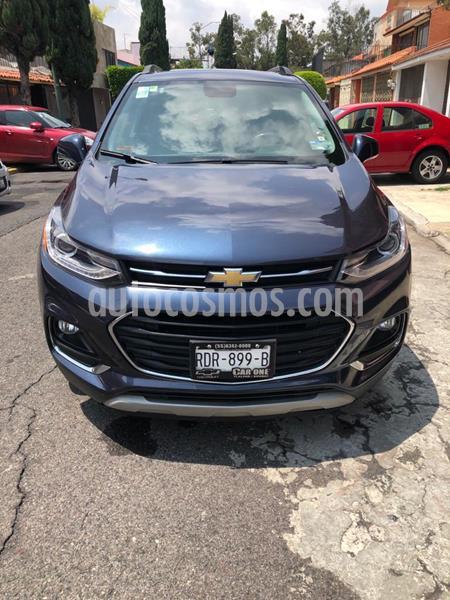 Chevrolet Trax Premier Aut usado (2018) color Azul Oscuro precio $300,000