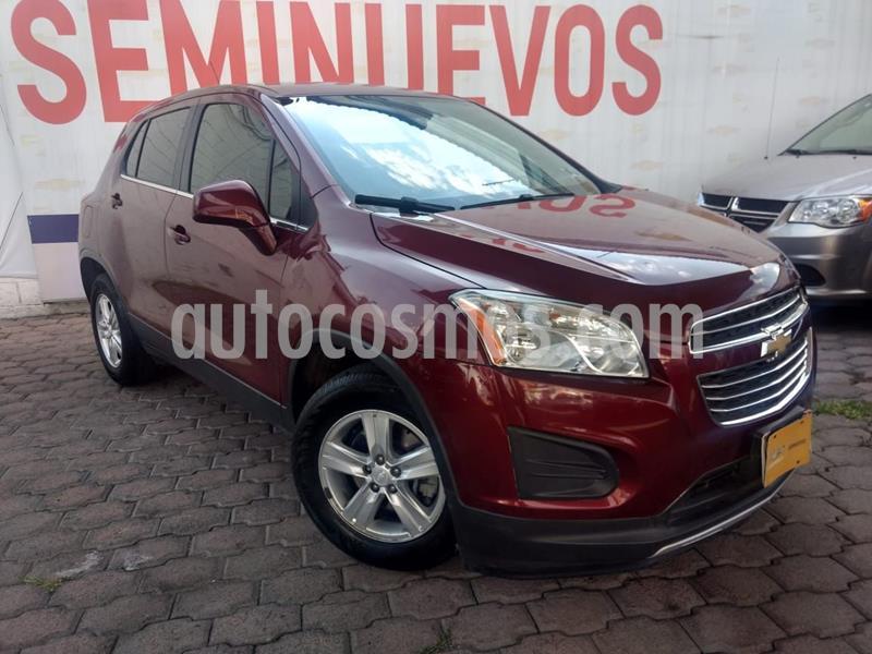 Chevrolet Trax LT Aut usado (2016) color Rojo precio $165,000