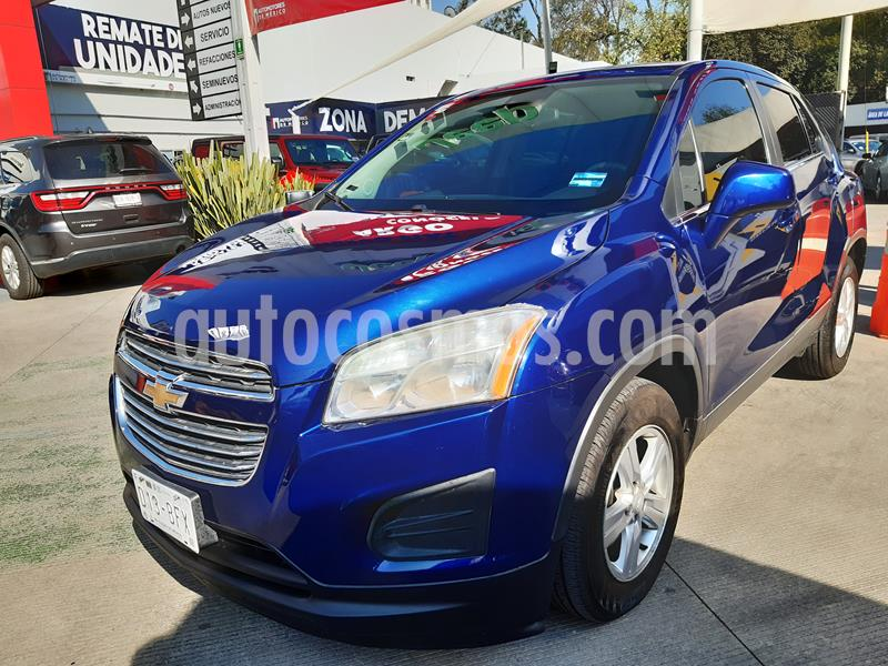 Chevrolet Trax LT Aut usado (2016) color Azul Oscuro precio $189,000
