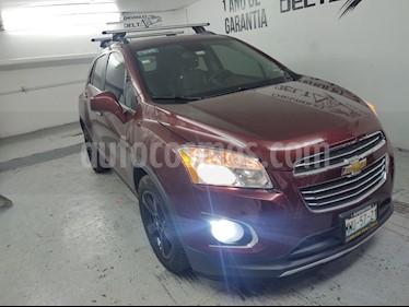 Chevrolet Trax LTZ usado (2016) color Rojo Tinto precio $220,900