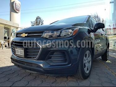 Chevrolet Trax LS usado (2017) color Azul Oscuro precio $225,000
