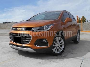 Foto venta Auto Seminuevo Chevrolet Trax Premier Aut (2017) color Naranja Metalico