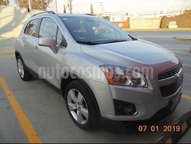 Foto venta Auto usado Chevrolet Trax Premier Aut (2014) color Plata precio $245,000