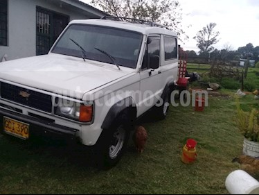 Foto venta Carro usado Chevrolet Trooper 960 4 Pts. Manual (1988) color Blanco precio $11.000.000