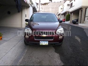 Foto venta Auto Seminuevo Chevrolet Uplander LS Paq. V (2009) color Bordo precio $100,000