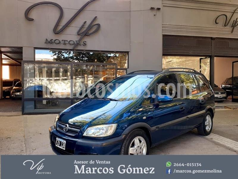 Chevrolet Zafira GLS Warner Bros. DVD usado (2007) color Azul precio $550.000