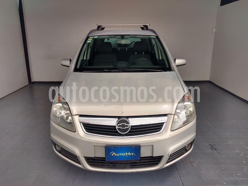 Chevrolet Zafira 2.2L Confort D usado (2006) color Plata precio $74,500