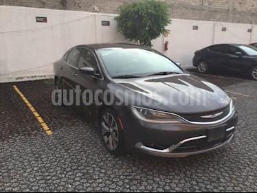 Foto venta Auto usado Chrysler 200 200 2.4 C 4P (2015) color Gris precio $230,000
