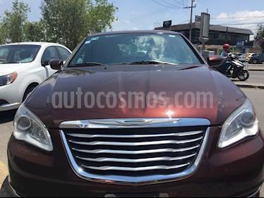 Chrysler 200 2.4L Touring  usado (2013) color Rojo Tabaco precio $115,000