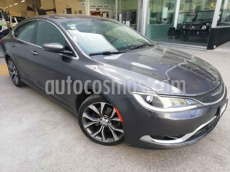 Chrysler 200 2.4L Limited usado (2015) color Gris precio $178,000