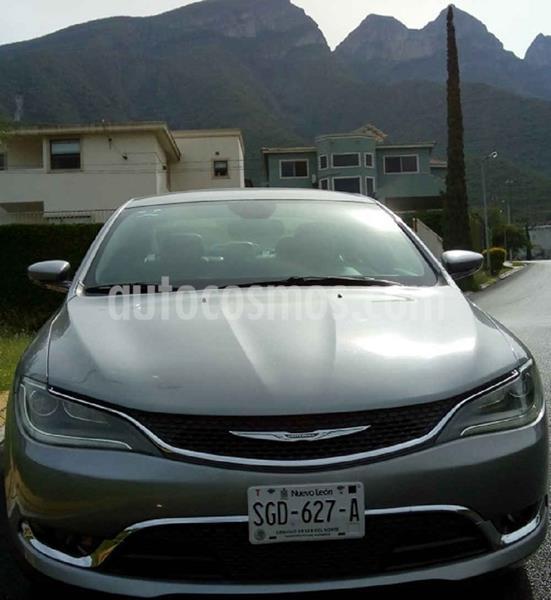Chrysler 200 200C usado (2015) color Plata precio $190,000