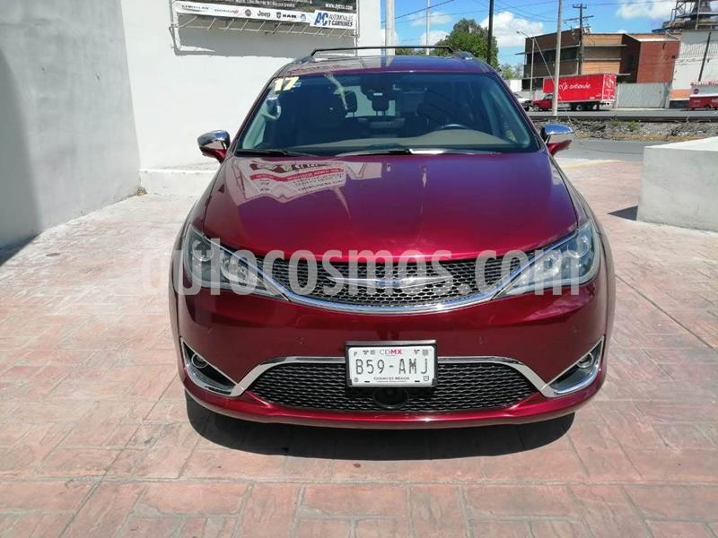 Chrysler Pacifica Limited usado (2017) color Rojo precio $569,900