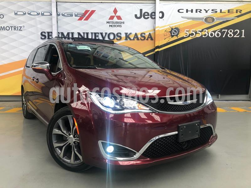 Chrysler Pacifica Limited usado (2018) color Rojo precio $599,000